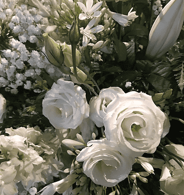 Flores de la iglesia!